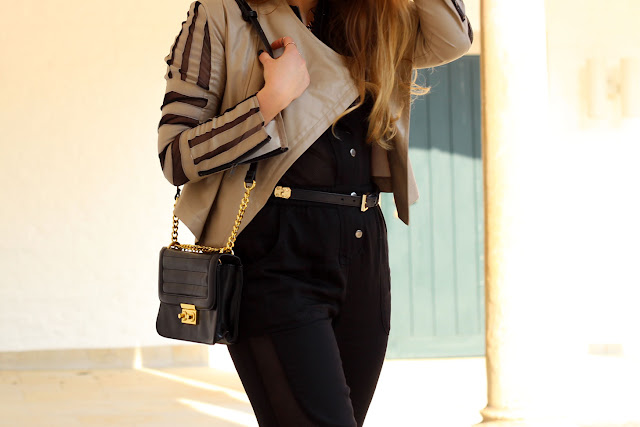 Gina Tricot, Boxbag, shoulder bag, quilted, gold details, mode blogger, hamburg, germany, jumpsuit, mesh, sporty chic, deichmann, High heels, Tasche, german Fashionblog, Trend, summer 2014, cut outs, Nelly.com, london, six,