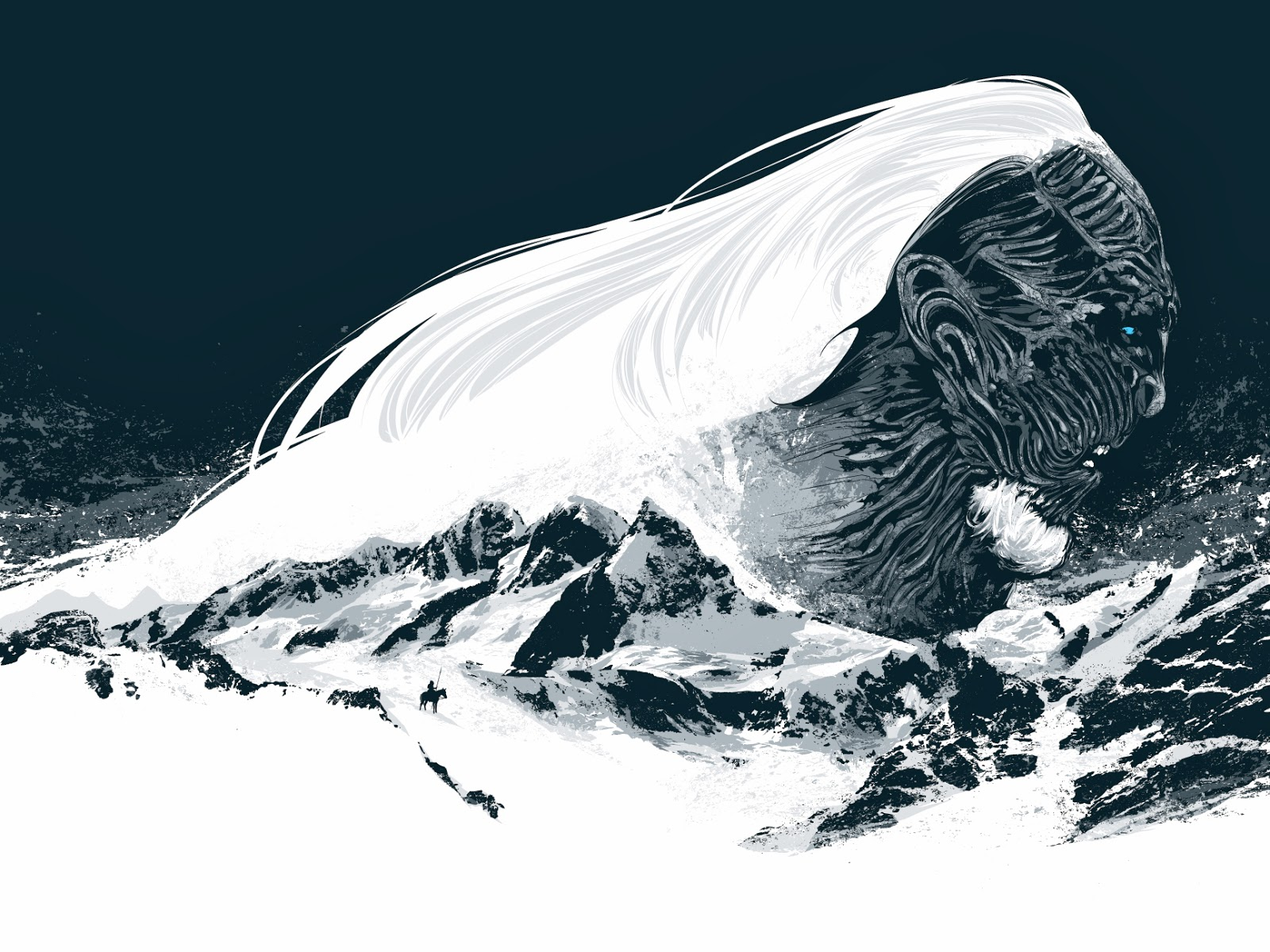 INSIDE THE ROCK POSTER FRAME BLOG: Winter is Coming Game of Thrones ...