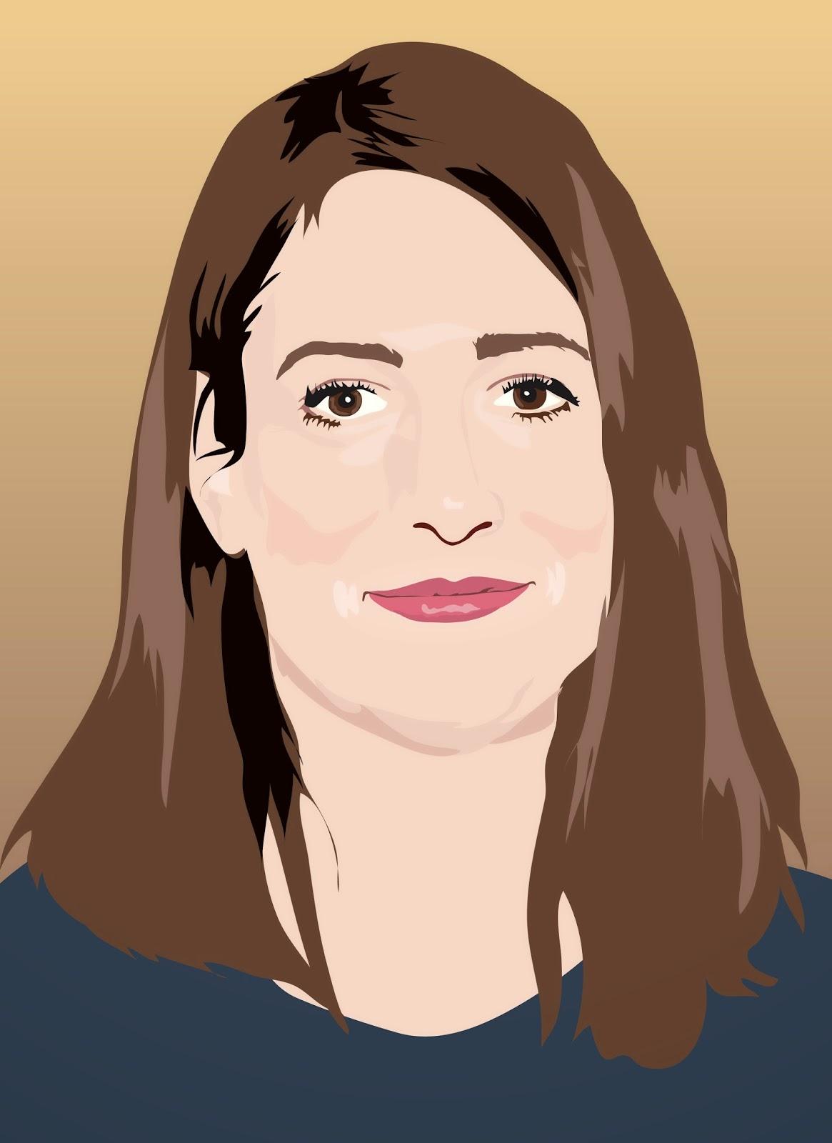gillian-flynn-face, gillian-flynn-author, gillian-flynn-portrait