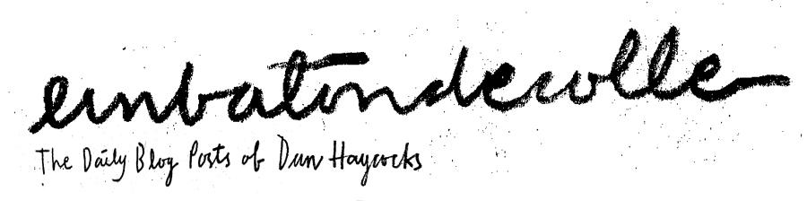 Dan Haycocks - Blog - Unbatondecolle