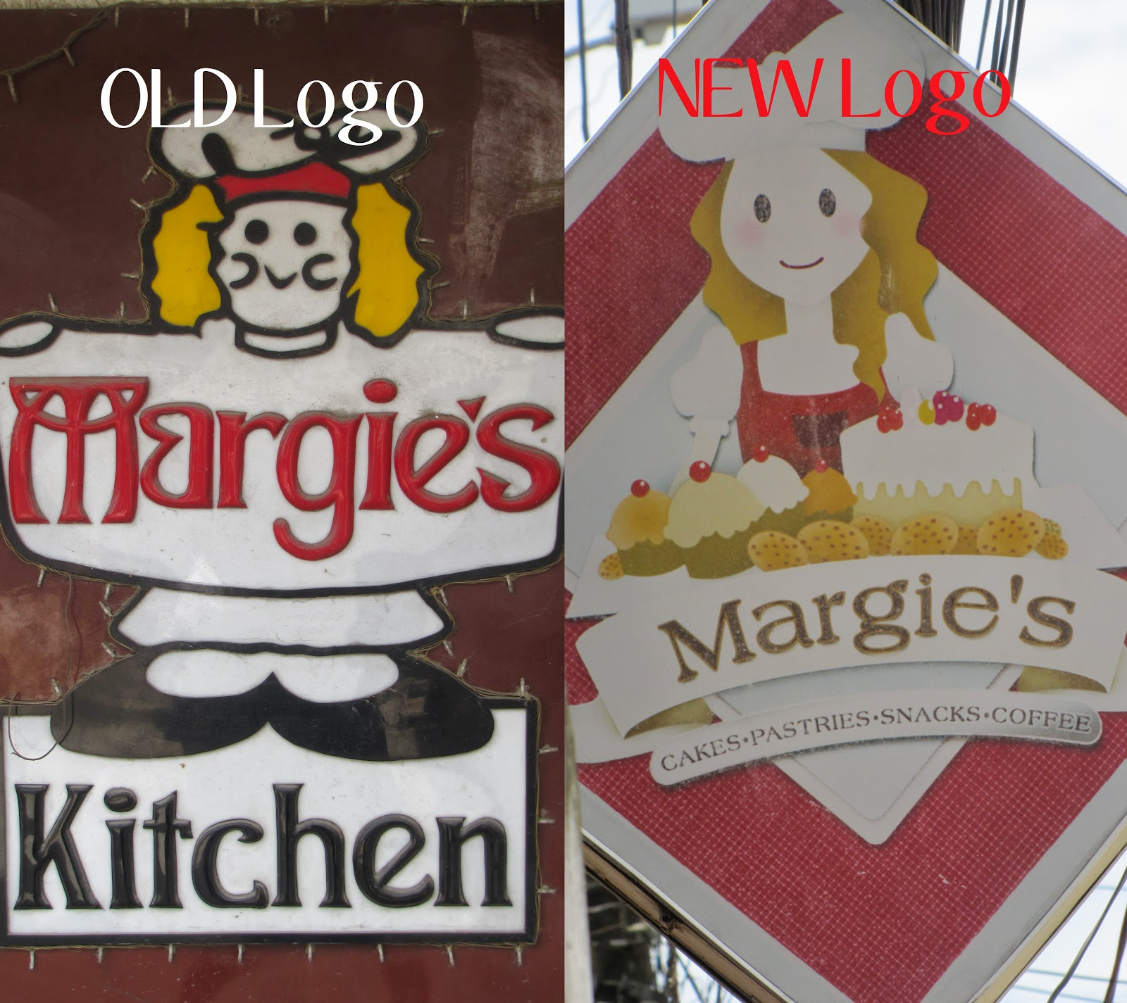 FTW! Blog, Margie's Kitchen Old Logo vs New Logo, Margie's Kitchen Butuan, Butuan City, #085eatdrink
