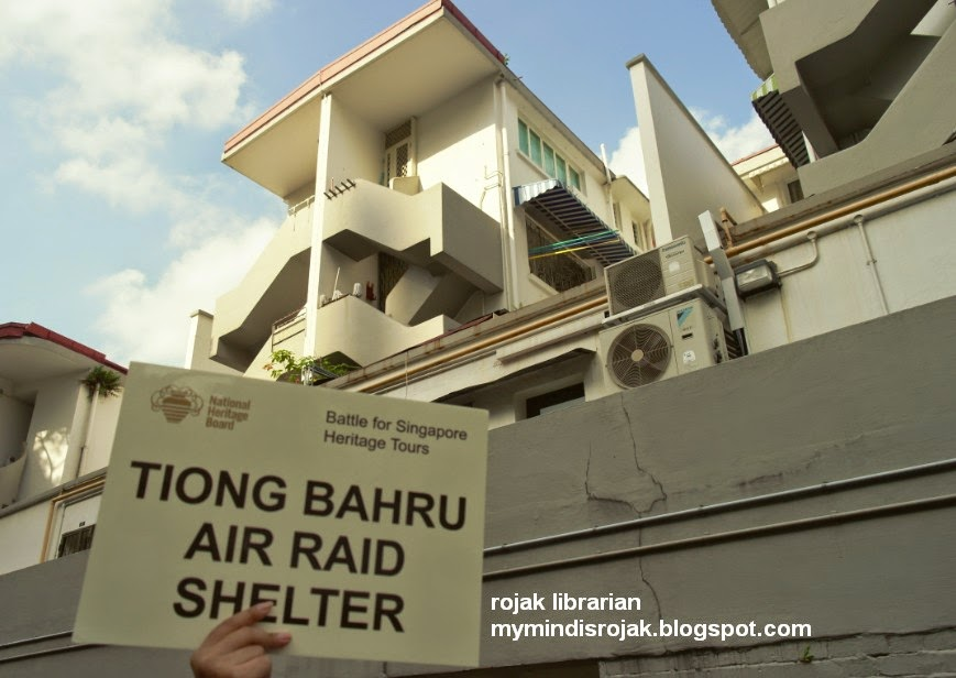 Tiong Bahru Air raid shelter
