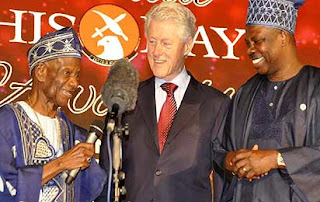 bill clinton paid 100 million to speak in nigeria