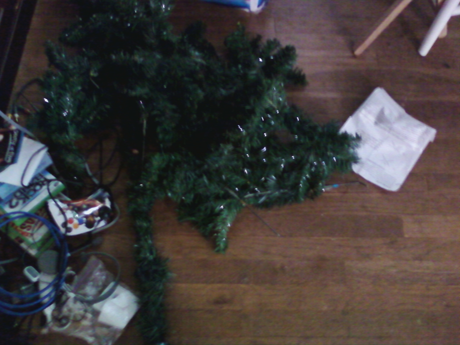 Fake Christmas Tree Stand In