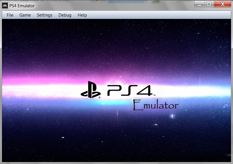 Emulator ps4 скачать