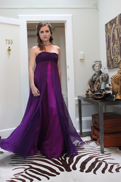 The Factory Empire Gown
