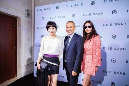 Josie Ho, Yvette Yung & Mr. ELIE SAAB