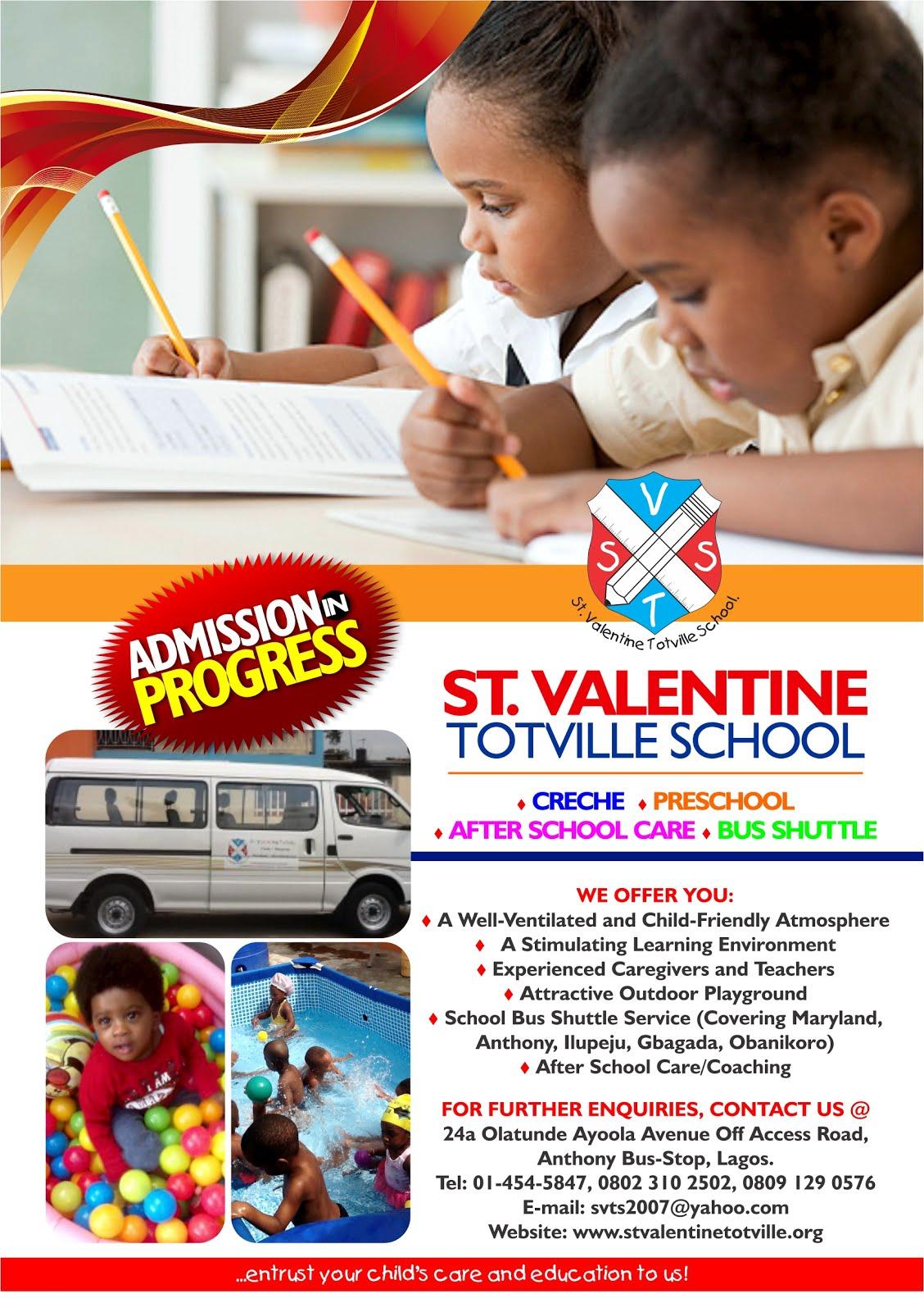 ST.VALENTINE TOTVILLE SCHOOL