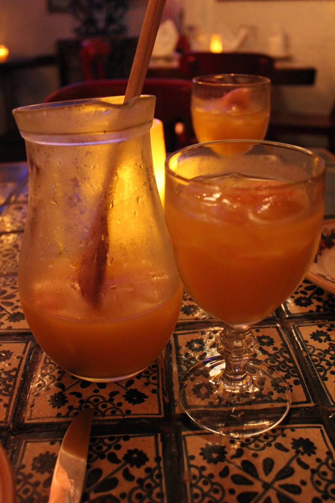 In and around town dali authentic spanish tapas for Cava sangria