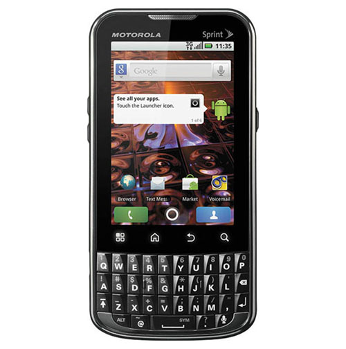 motorola Xprt hard reset guide picture