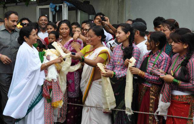 Mamata to visit Darjeeling has set the political temperature in the hills rising.