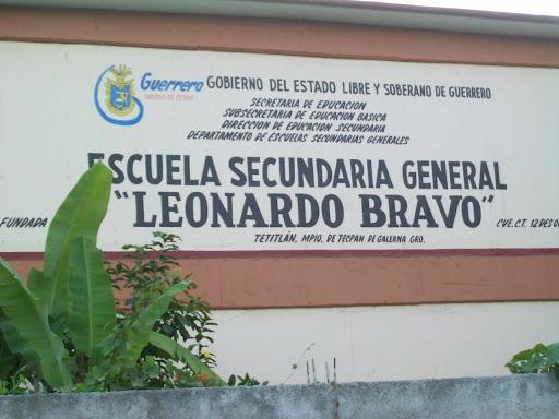 """Sec. """"Leonardo Bravo"""" Tetitlán"""