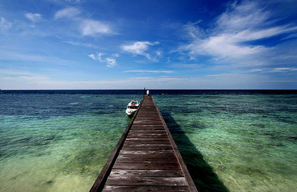 Danau Purba di Pulau Kakaban