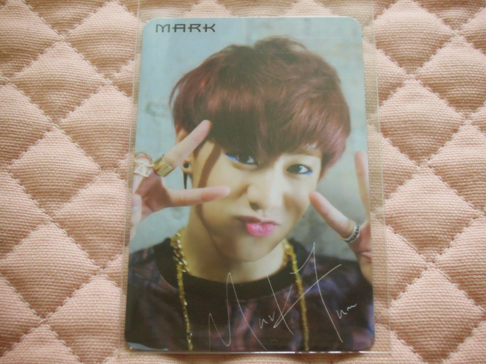 (ver. Mark) GOT7 1st Mini Album Got it? Girls Girls Girls Photocard K-POP