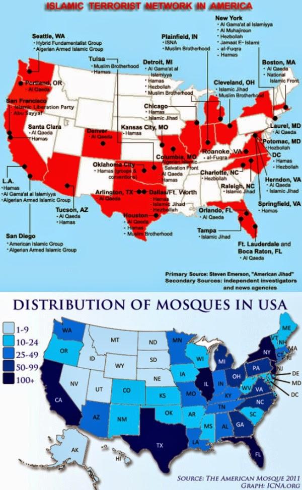 Muslim Terrorists Infiltrate U.S.