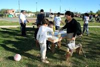Nueva jornada solidaria en el barrio Ameghino por La Cámpora Luján