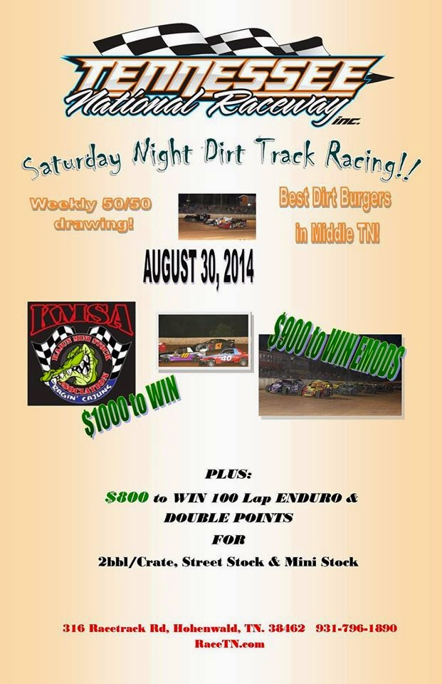 8/30 at Tennessee National Raceway