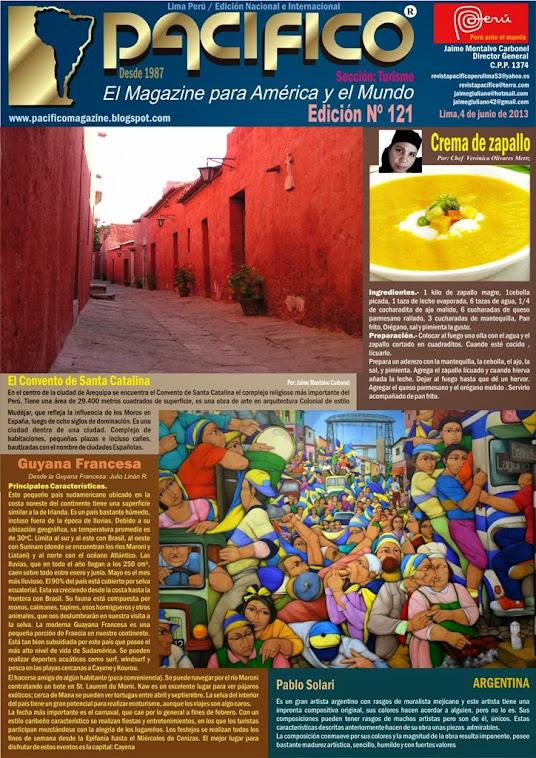 Revista Pacífico Nº 121 Turismo