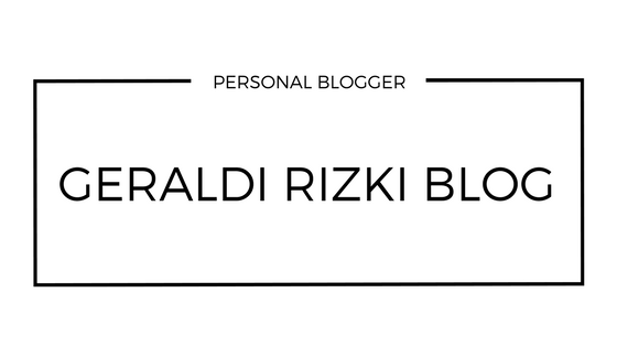 Geraldi Rizki Blog