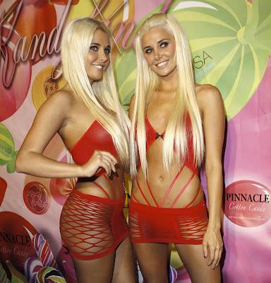 Kristina And Karissa Shannon Skanking Outfits At The Playboy Mansion