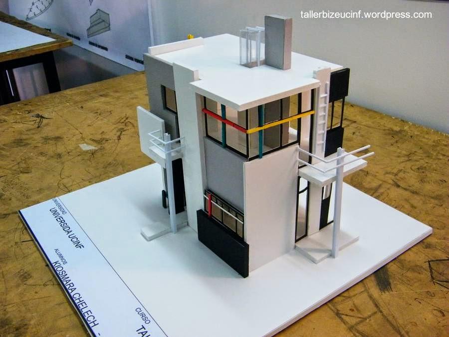 Maqueta de la Casa Schröder