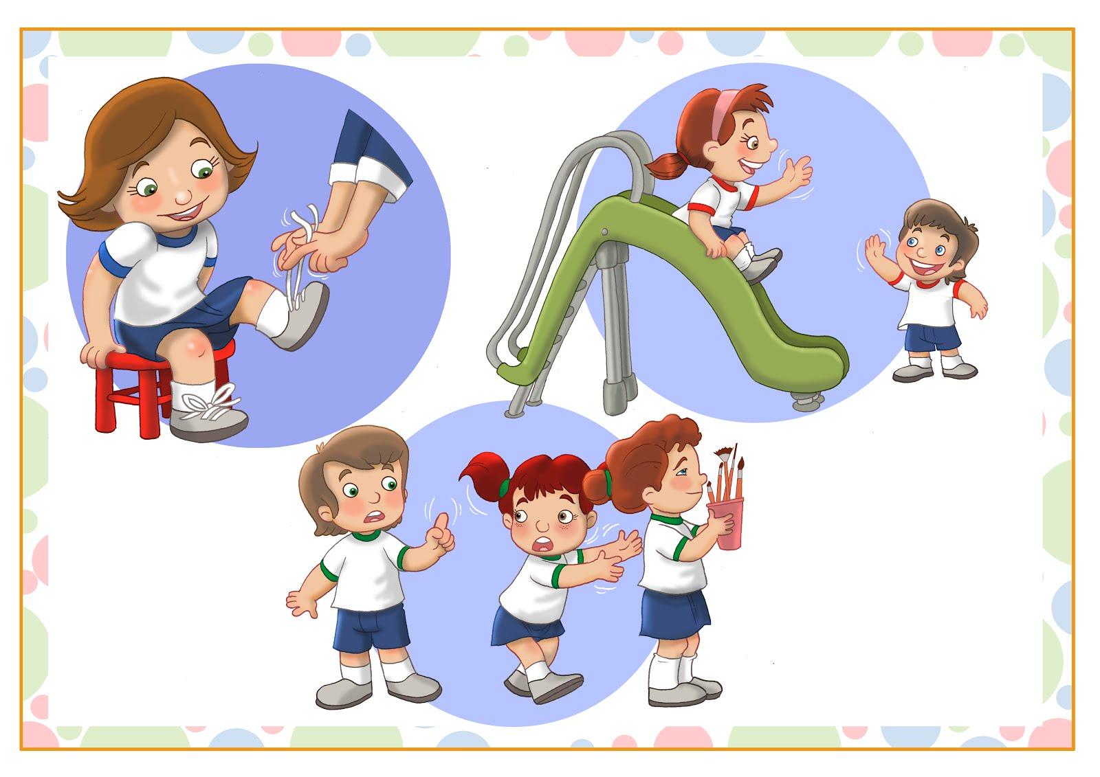 laminas de Jardín de infantes