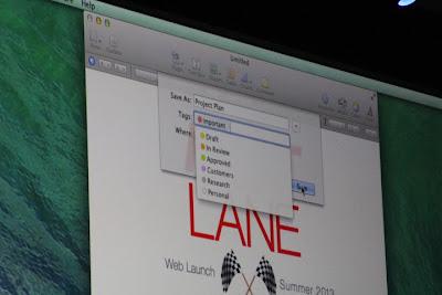 Mac OS X Mavericks screenshot