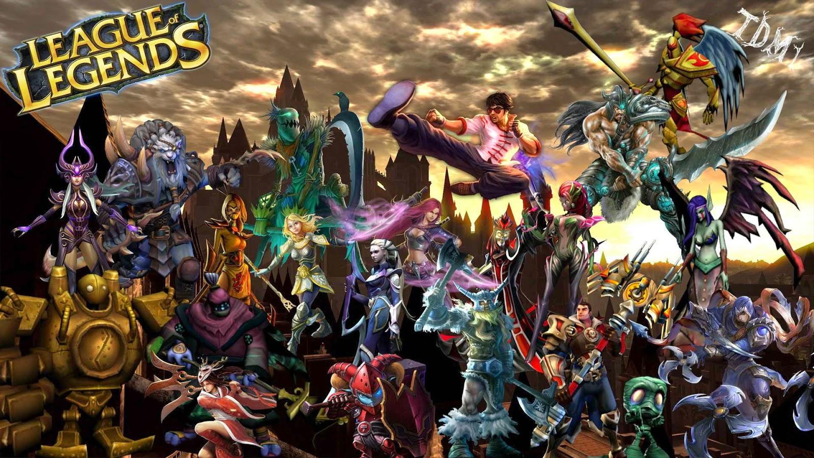 League of Legends hd wallpaper by hdwallsource