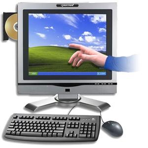 بالفيديو : طريقة تحويل اي شاشة كمبيوتر لتعمل بالمس