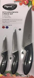 Pigeon Kitchen Knives