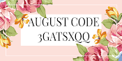USE AUGUST CODE WHEN SHOPPING