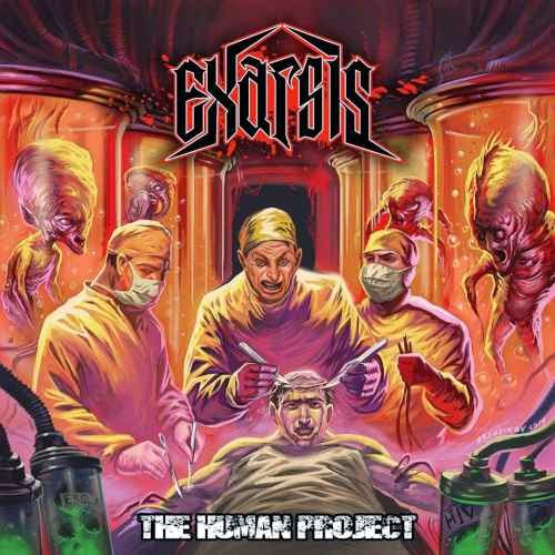 Exarsis - The Human Project cover