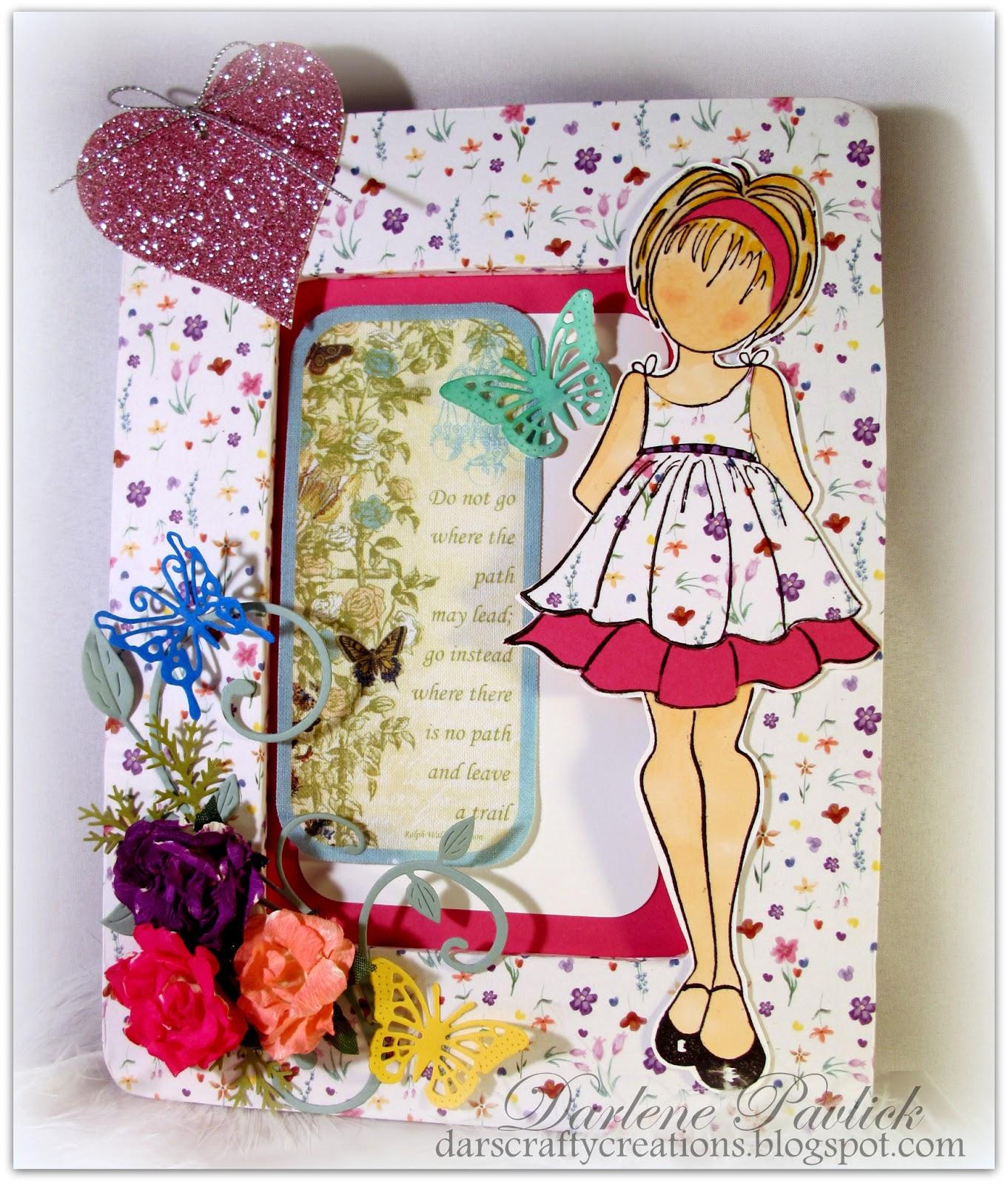 Dar's Crafty Creations: Prima - Julie Nutting Doll Hop ...