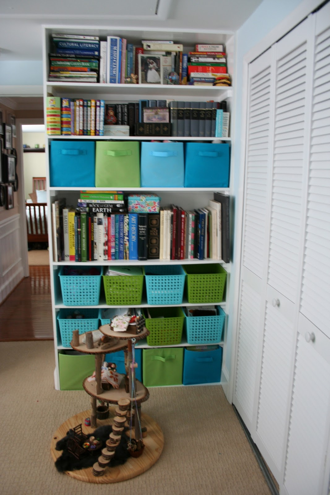 Pink And Green Mama Kid Friendly Spaces And Toy Storage