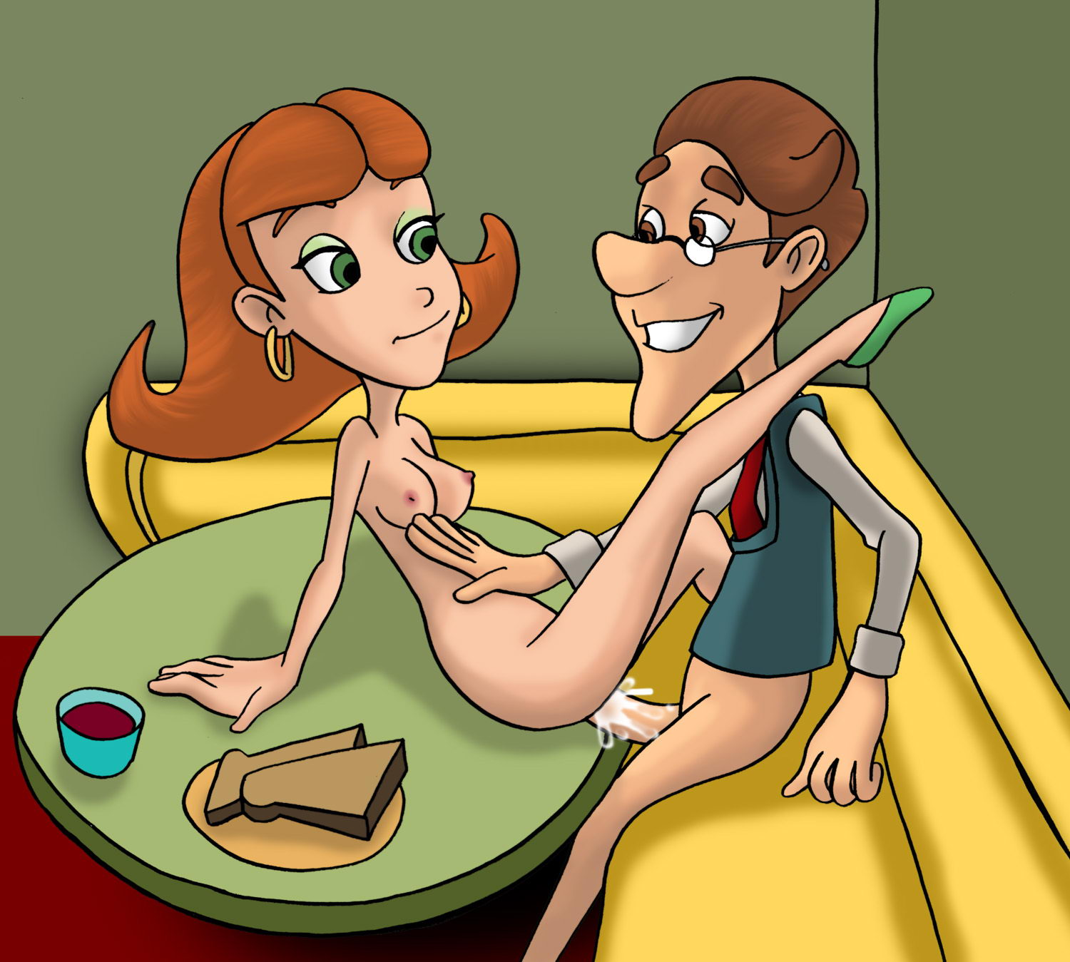 Cartoonsexpic nude film