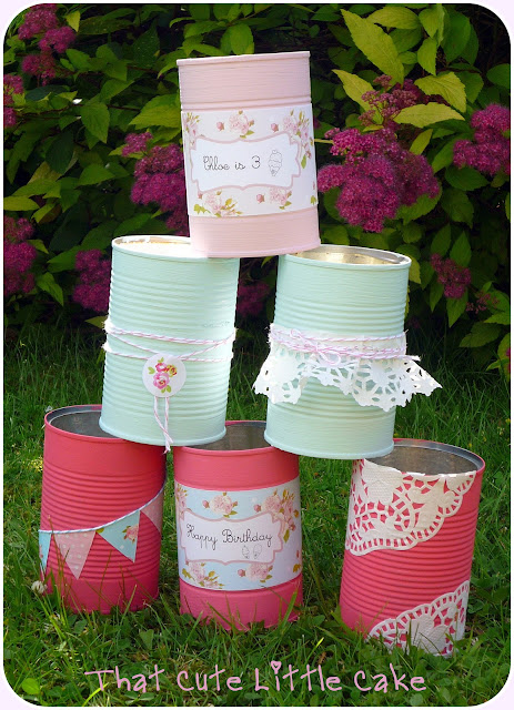 That Cute Little Cake Craft Ice cream party games