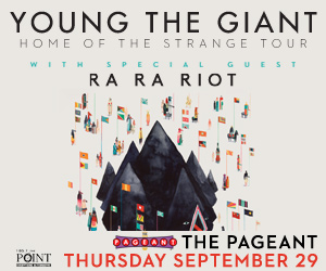 YOUNG THE GIANT AT THE PAGEANT
