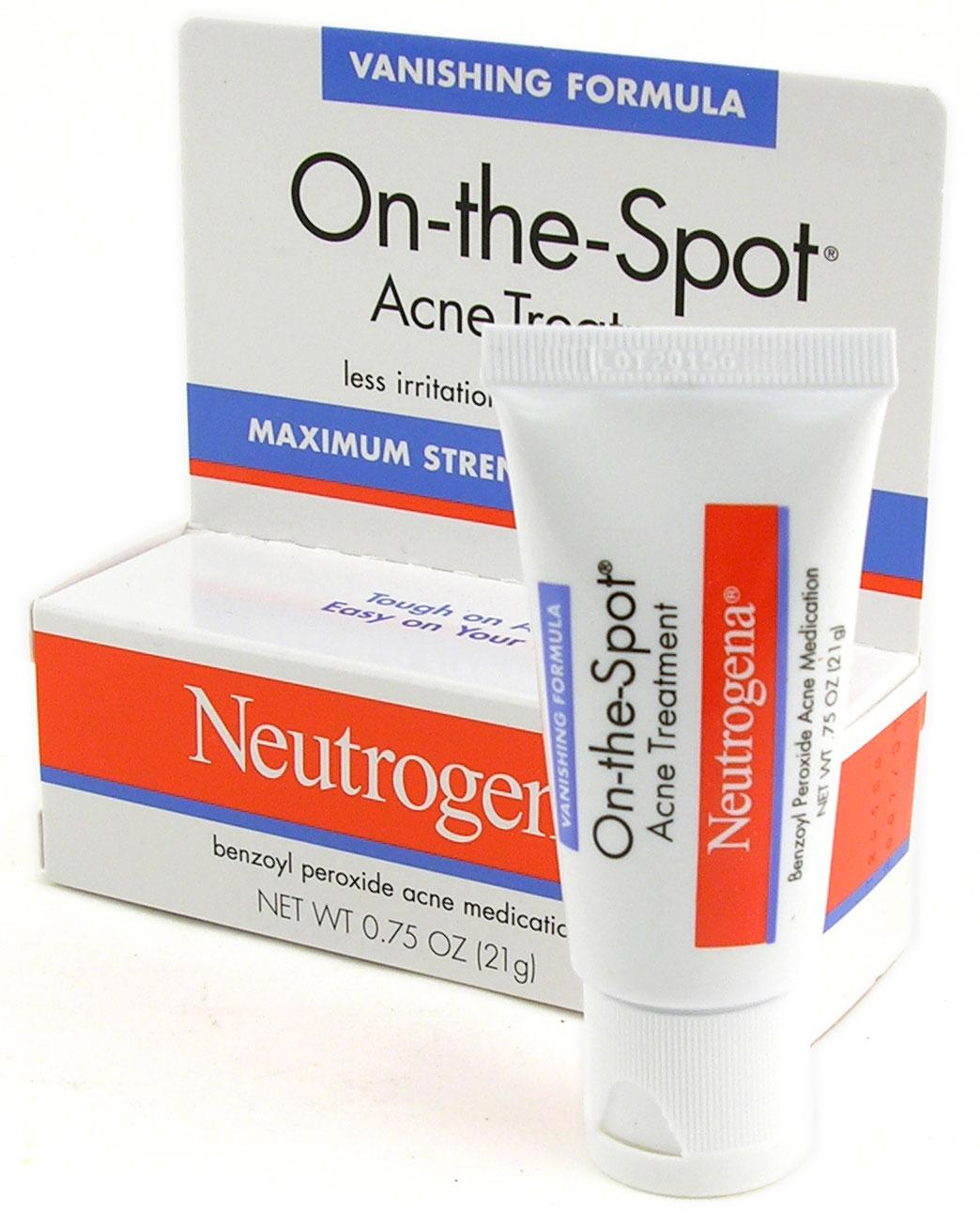 acne skin care neutrogena onthespot acne treatment review