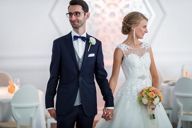 Pastelowy ślub.