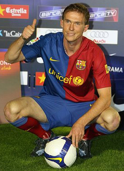 Alexander Hleb Midfileder Barcelona Transfer Aston Villa