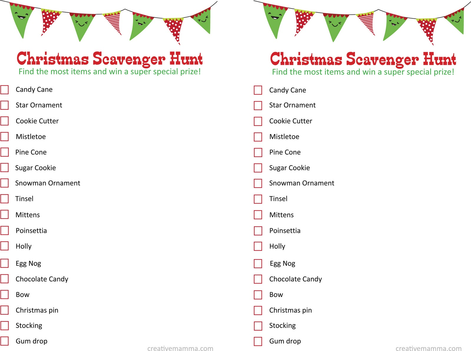 Top 10 Christmas Party Ideas Part - 35: Christmas Scavenger Hunt Party! -Go To A Store And Separate Into Groups,  Have Everyone Try To Find The Items On The List Above.