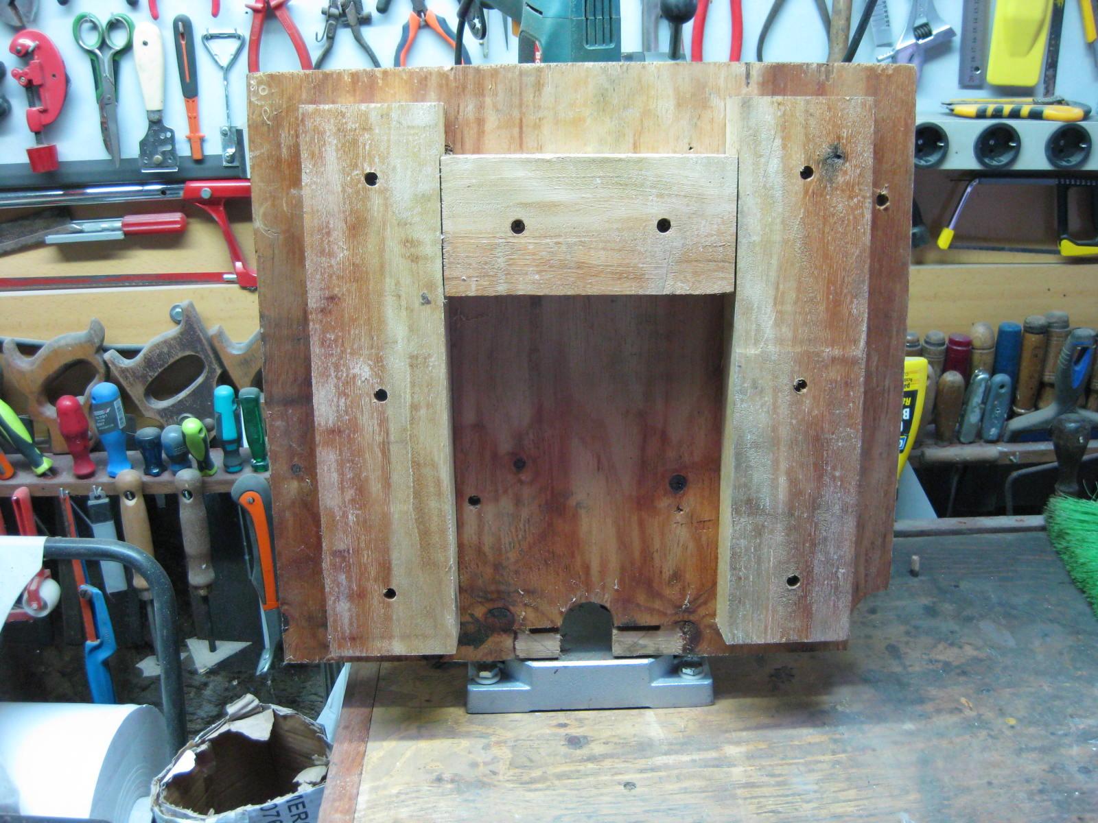 Bricolaje oficios y otras cosas mejoras columna de - Taladro de la madera ...