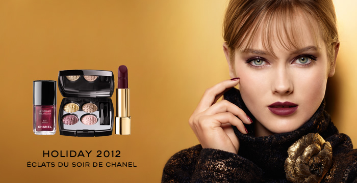 Eclats du Soire de Chanel Holiday 2012 Makeup Collection - Swatches