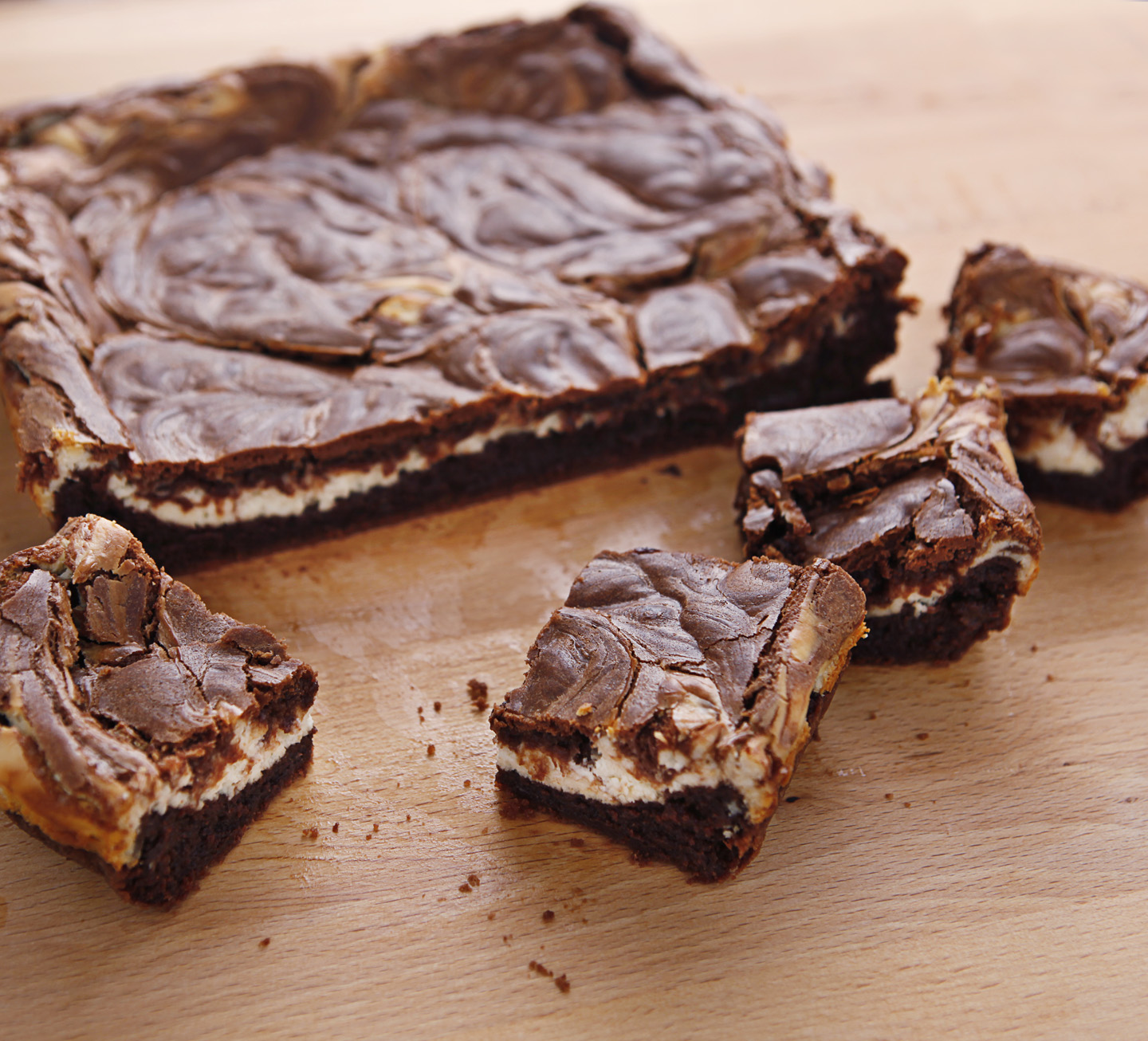 Confessions of a Bake-aholic: Cream Cheese Brownies (and a winner!)