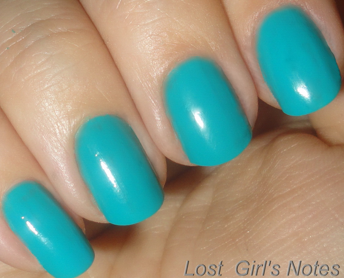 Milani Neon Fresh Teal ~ Lost Girl\'s Notes