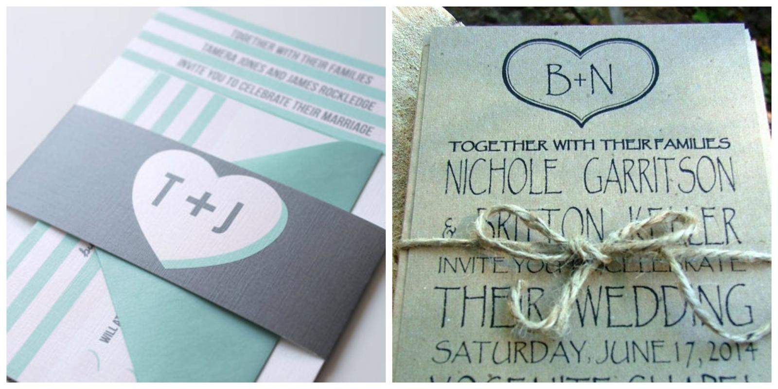 ideas originales para tu boda con vuestras iniciales