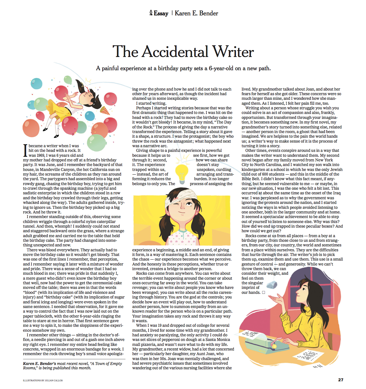 personal essays new york times The new york times the caregiver's bookshelf: essays on the end a purring cat, and 22 very personal essays about death and dying.