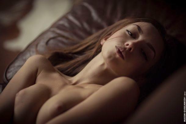 Maxim Guselnikov fotografia mulheres sensuais modelo russa Ofeliya Moonspell
