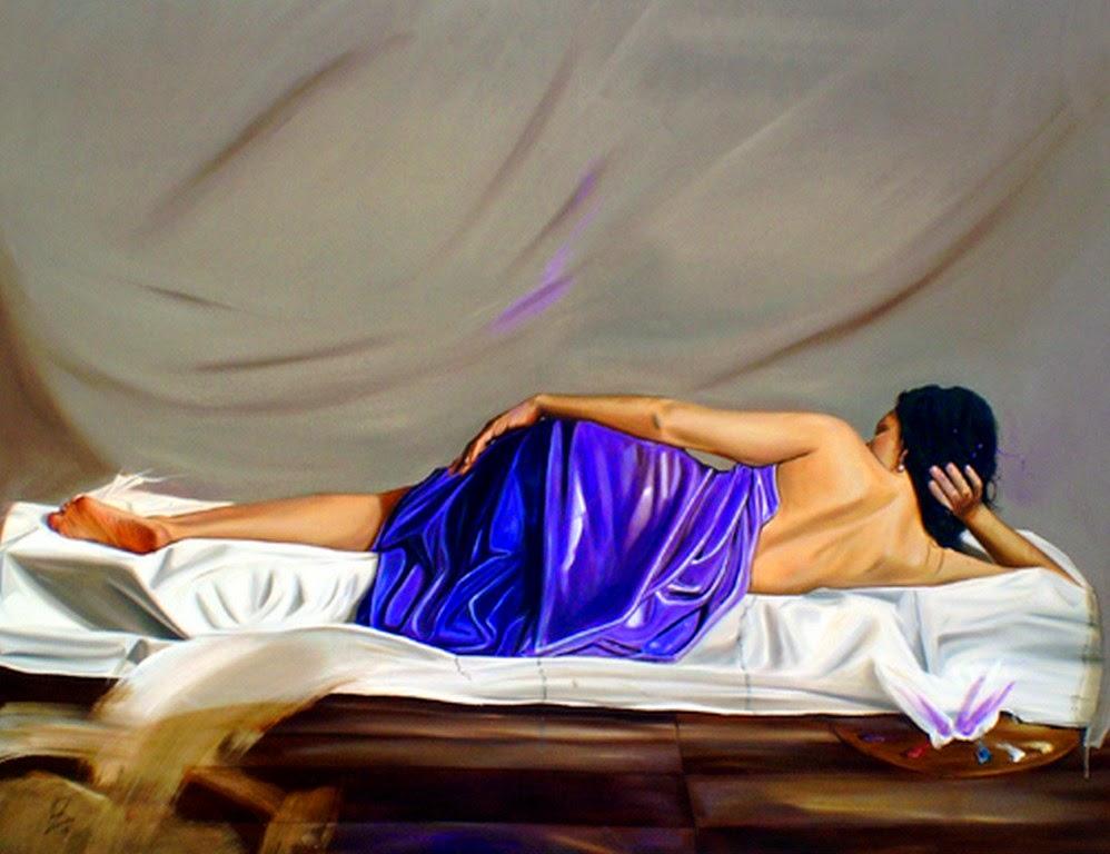 Pinturas Femeninas al Óleo