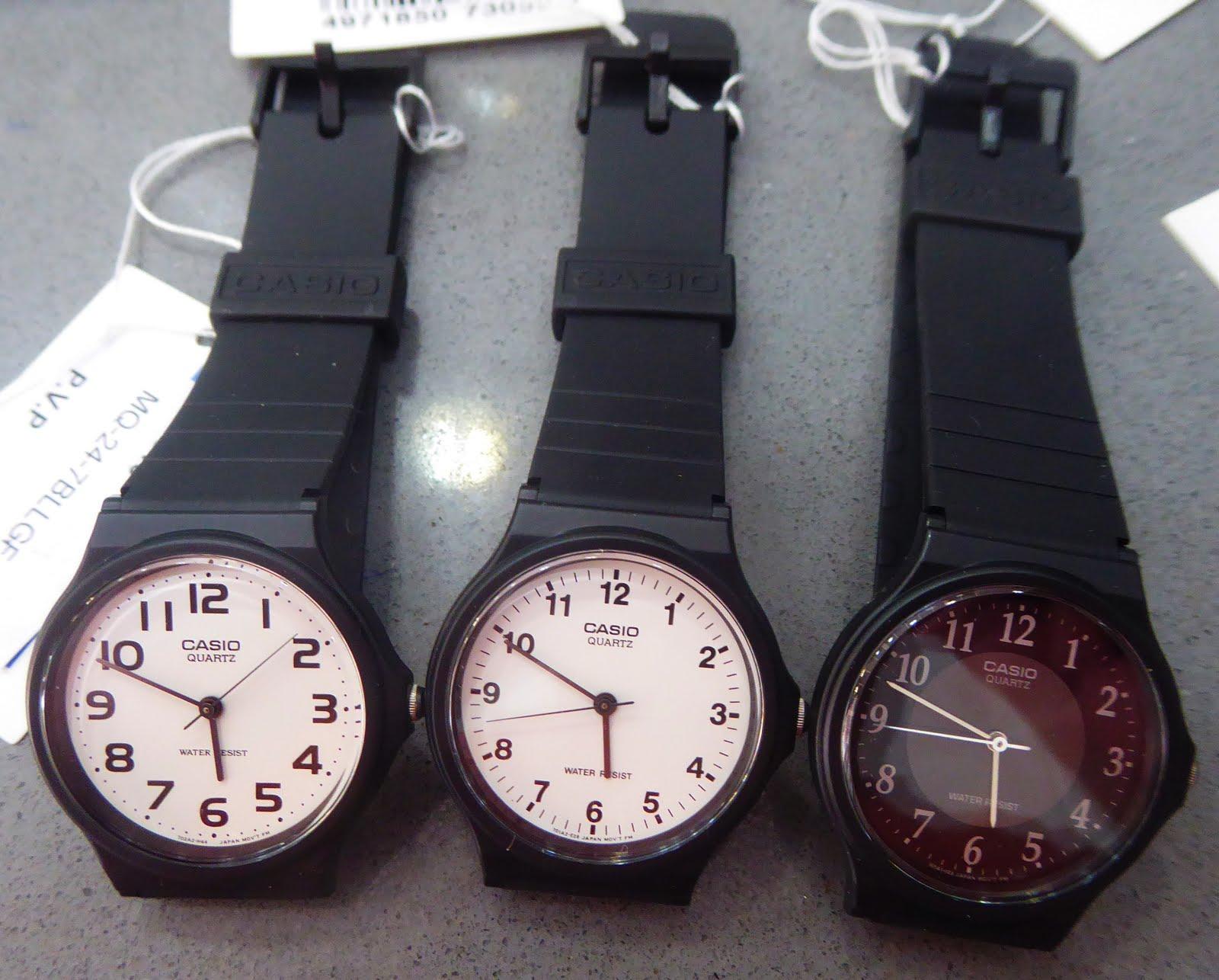 Clásicos Populares, Relojes Casio